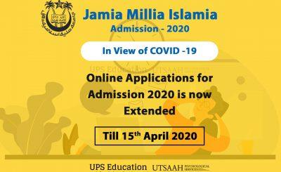 JMI ADMISSION 2020