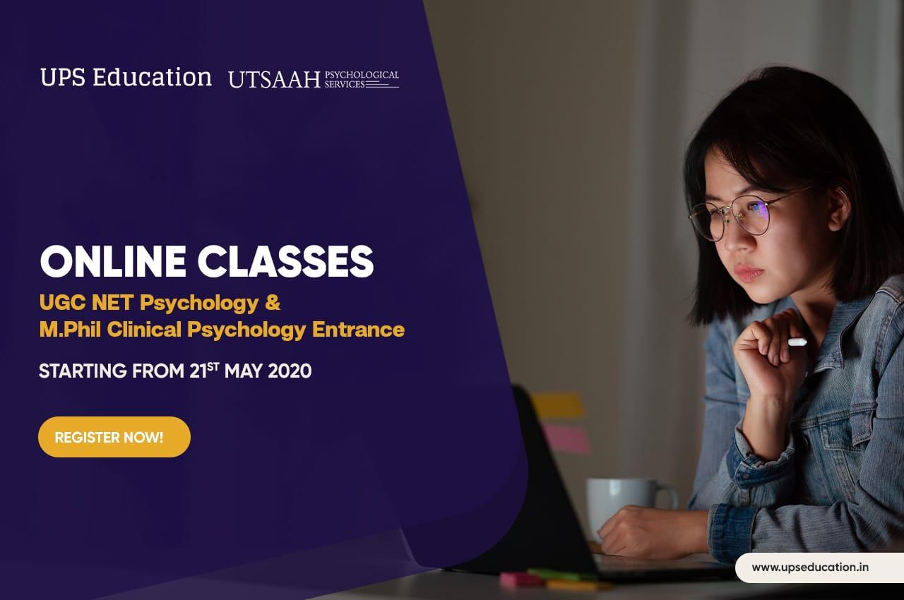 Online psychology entrance classes