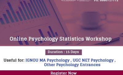 IGNOU Statistics for psychology