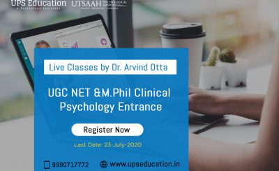 Live Classes by Dr. Arvind Otta for Psychology Entrance Preparation