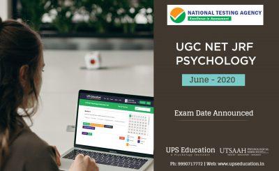 UGC NET JRF Psychology June 2020 Exam Date Out