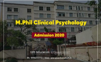 M.Phil Clinical Psychology Admission forms 2020 – Still Open