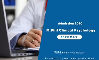 M.Phil Clinical Psychology Admission open 2020