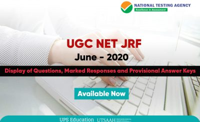 UGC NET June 2020 Psychology Provisional Answer Key Available