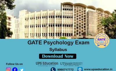GATE Psychology Syllabus
