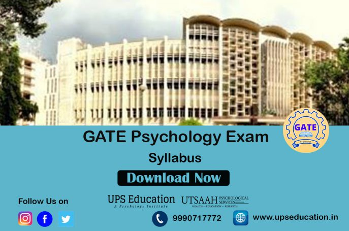GATE Psychology Syllabus