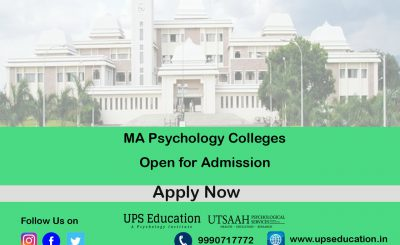 MA in Psychology colleges open for admission