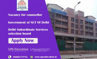 Vacancy for Counsellor