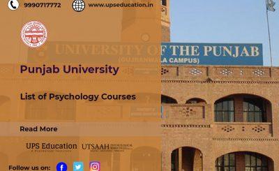 PU List of Psychology courses